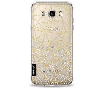 Abstraction Half Half Transparent - Samsung Galaxy J5 (2016)