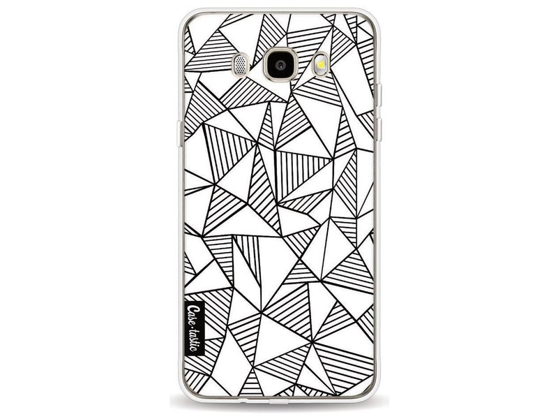 Casetastic Softcover Samsung Galaxy J5 (2016) - Abstraction Lines White