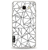 Casetastic Softcover Samsung Galaxy J5 (2016) - Abstraction Outline