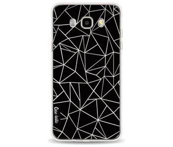 Abstraction Outline Black - Samsung Galaxy J5 (2016)
