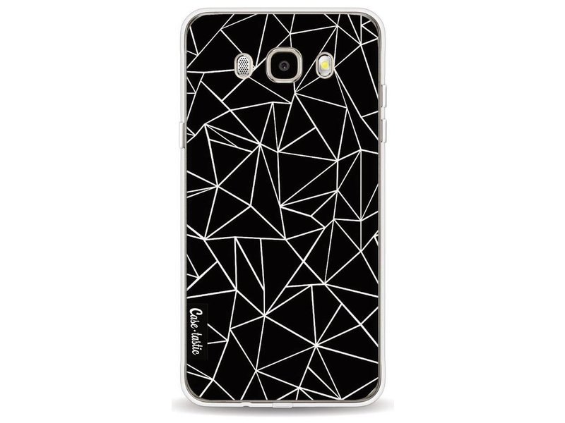 Casetastic Softcover Samsung Galaxy J5 (2016) - Abstraction Outline Black