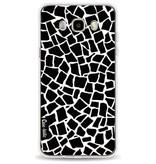 Casetastic Softcover Samsung Galaxy J5 (2016) - British Mosaic Black