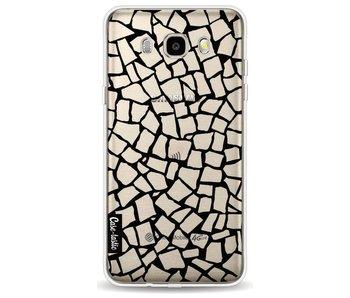 British Mosaic Black Transparent - Samsung Galaxy J5 (2016)
