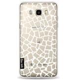 Casetastic Softcover Samsung Galaxy J5 (2016) - British Mosaic White Transparent