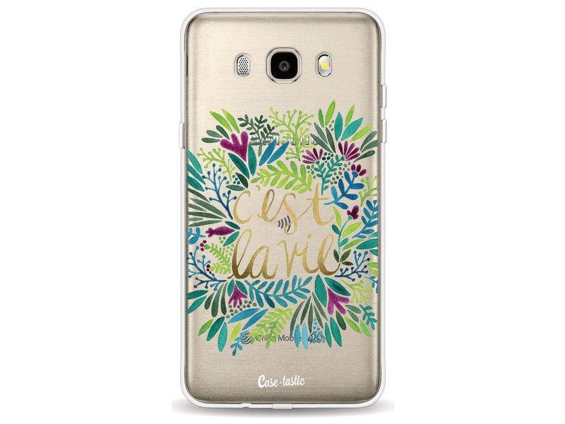 Casetastic Softcover Samsung Galaxy J5 (2016) - Cest La Vie Multi