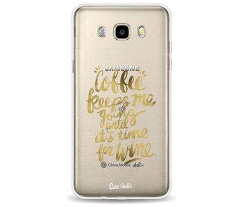 Coffee Wine Gold - Samsung Galaxy J5 (2016)
