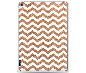 Copper Chevron - Apple iPad Pro 9.7