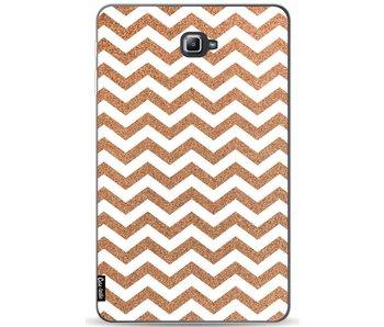 Copper Chevron - Samsung Galaxy Tab A 10.1 (2016)