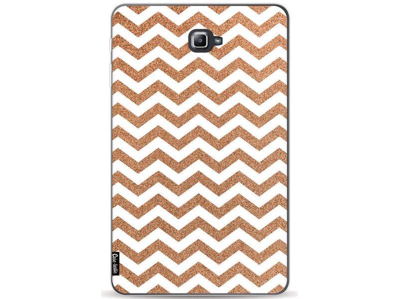 Casetastic Softcover Samsung Galaxy Tab A 10.1 (2016) - Copper Chevron