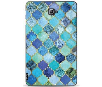 Aqua Moroccan Tiles - Samsung Galaxy Tab A 10.1 (2016)