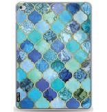 Casetastic Softcover Apple iPad Pro 9.7 - Aqua Moroccan Tiles