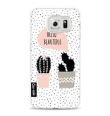 Casetastic Softcover Samsung Galaxy S6 - Cactus Love
