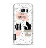 Casetastic Softcover Samsung Galaxy S7 - Cactus Love