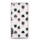 Casetastic Softcover Huawei P8 Lite - Cactus Print