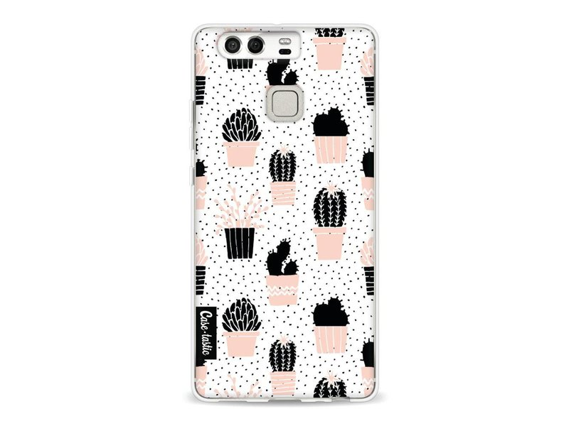 Casetastic Softcover Huawei P9  - Cactus Print
