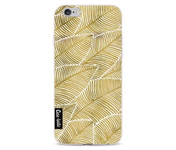 Tropical Leaves Gold - Apple iPhone 6 / 6s