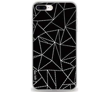 Abstract Dotted Lines Black - Apple iPhone 7 Plus