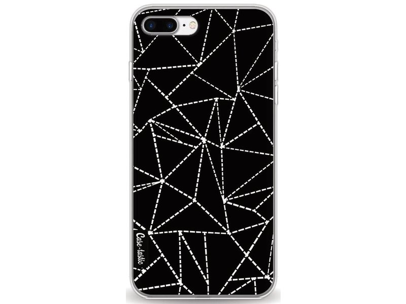 Casetastic Softcover Apple iPhone 7 Plus - Abstract Dotted Lines Black