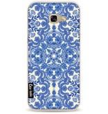 Casetastic Softcover Samsung Galaxy A5 (2017) - Blue White Folk Art