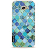 Casetastic Softcover Samsung Galaxy A5 (2017) - Aqua Moroccan Tiles