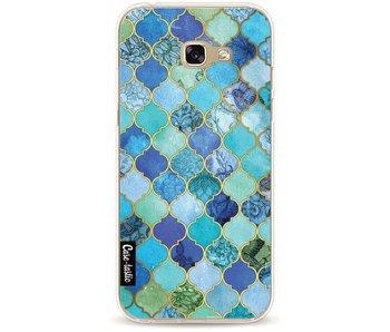 Aqua Moroccan Tiles - Samsung Galaxy A5 (2017)
