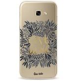 Casetastic Softcover Samsung Galaxy A5 (2017) - Cest La Vie BlackGold