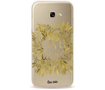 Cest La Vie Gold - Samsung Galaxy A5 (2017)