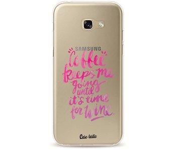 Coffee Wine Pink - Samsung Galaxy A5 (2017)