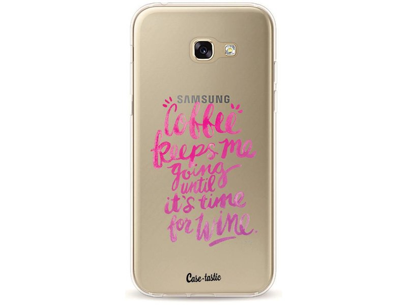 Casetastic Softcover Samsung Galaxy A5 (2017) - Coffee Wine Pink