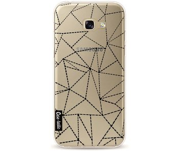 Abstract Dotted Lines Black Transparent - Samsung Galaxy A5 (2017)
