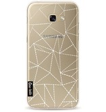 Casetastic Softcover Samsung Galaxy A5 (2017) - Abstract Dotted Lines Transparent