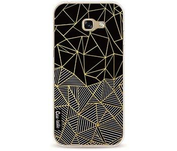 Abstraction Half Half Gold - Samsung Galaxy A5 (2017)