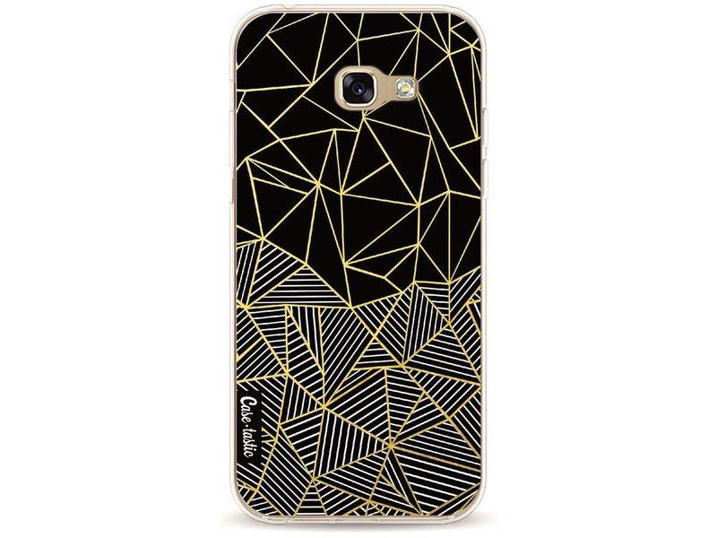 Casetastic Softcover Samsung Galaxy A5 (2017) - Abstraction Half Half Gold
