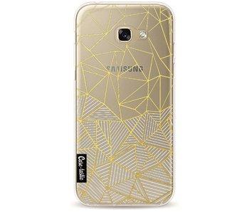 Abstraction Half Half Transparent - Samsung Galaxy A5 (2017)