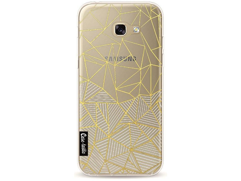 Casetastic Softcover Samsung Galaxy A5 (2017) - Abstraction Half Half Transparent