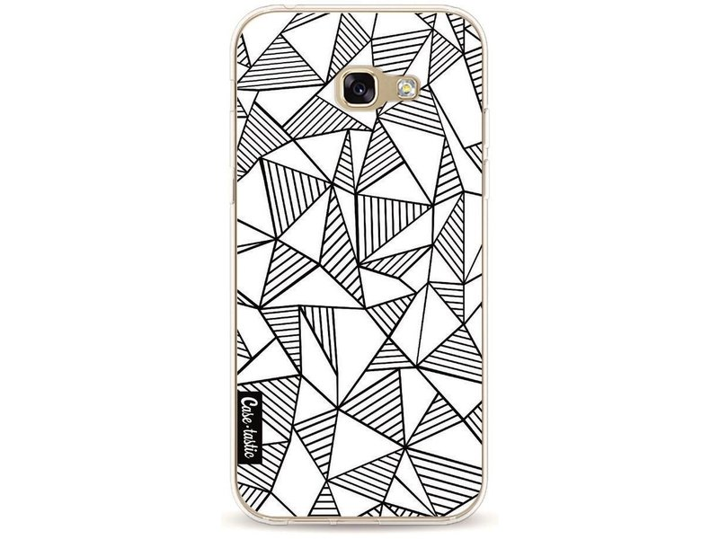 Casetastic Softcover Samsung Galaxy A5 (2017) - Abstraction Lines White
