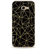 Casetastic Softcover Samsung Galaxy A5 (2017) - Abstraction Outline Gold