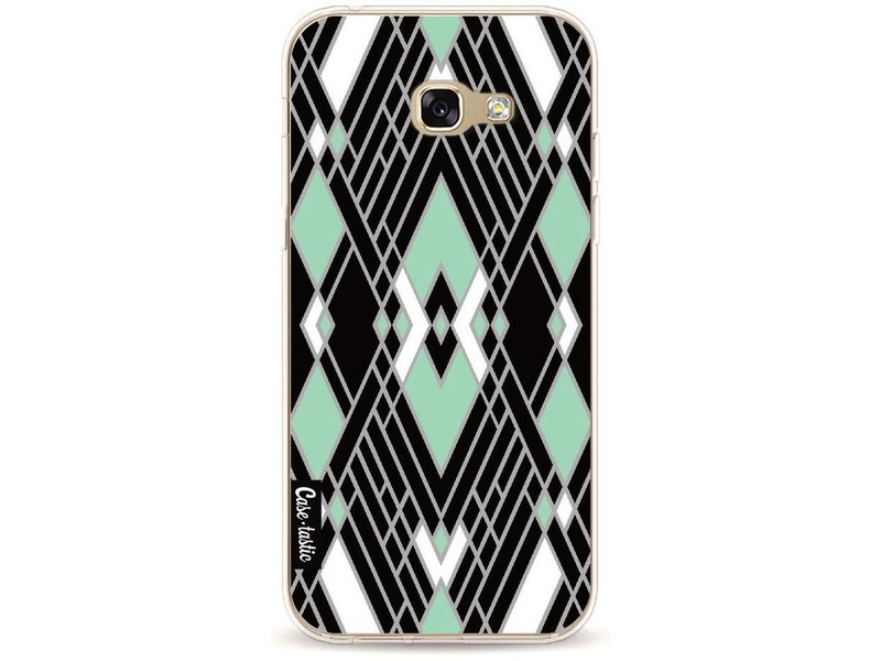 Casetastic Softcover Samsung Galaxy A5 (2017) - Art Deco Mint