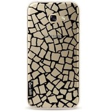 Casetastic Softcover Samsung Galaxy A5 (2017) - British Mosaic Black Transparent
