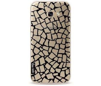 British Mosaic Black Transparent - Samsung Galaxy A5 (2017)