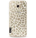 Casetastic Softcover Samsung Galaxy A5 (2017) - British Mosaic White Transparent
