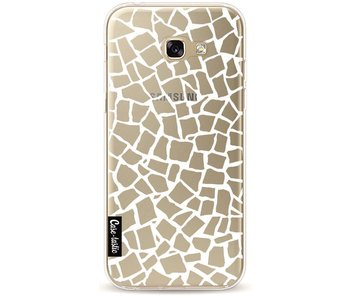 British Mosaic White Transparent - Samsung Galaxy A5 (2017)