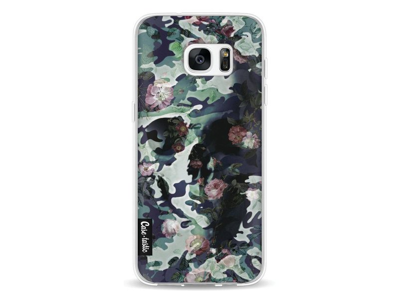 Casetastic Softcover Samsung Galaxy S7 Edge - Army Skull