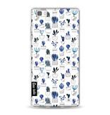 Casetastic Softcover Huawei P8 Lite - Blue Cacti