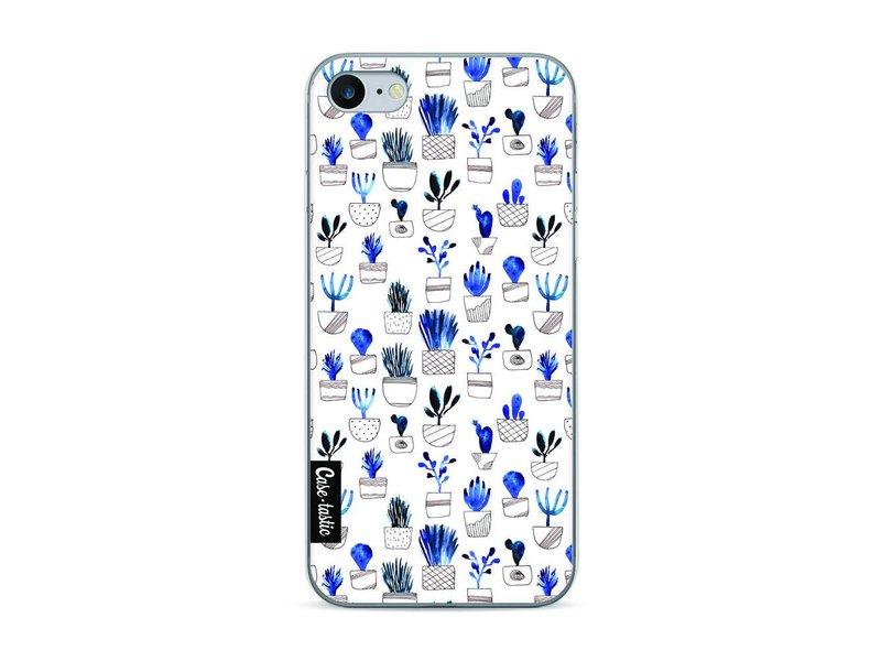 Casetastic Softcover Apple iPhone 7 - Blue Cacti