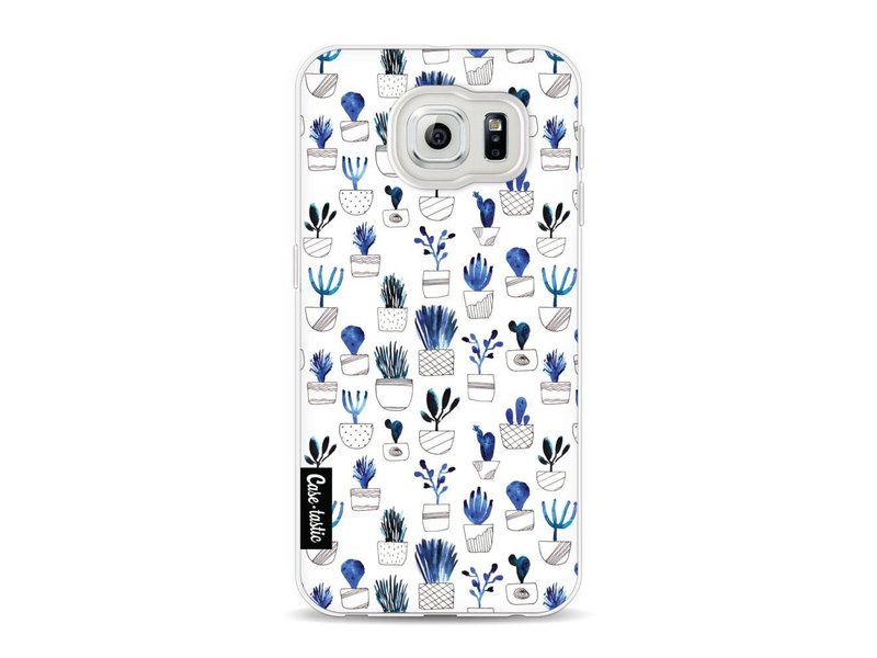 Casetastic Softcover Samsung Galaxy S6 - Blue Cacti