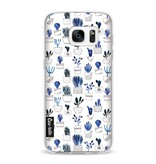 Casetastic Softcover Samsung Galaxy S7 - Blue Cacti