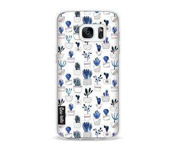Blue Cacti - Samsung Galaxy S7