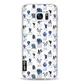 Casetastic Softcover Samsung Galaxy S7 Edge - Blue Cacti