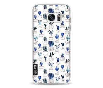Blue Cacti - Samsung Galaxy S7 Edge